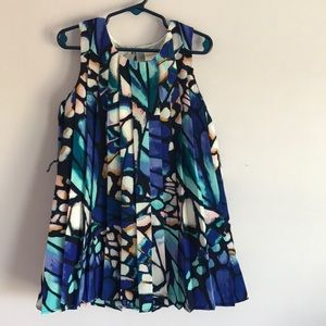 Gymboree stained glass butterfly pleated dress 5
